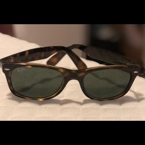 Tortoise shell framed Ray Bans. Like new! $40
